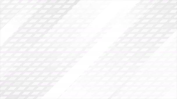 Grey fehér tech geometrikus minimális elvont mozgás animált háttér