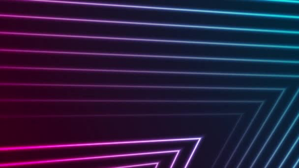 Színes neon lézervonalak elvont futurisztikus geometriai mozgás háttér