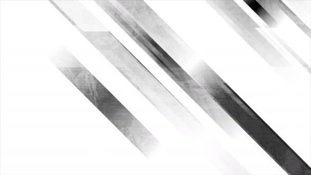 Šedé grunge pruhy abstraktní geometrický pohyb pozadí