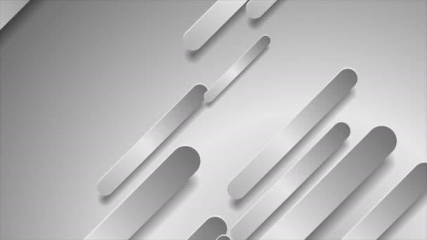 Abstraktní stříbrná šedá hi-tech diagonální tvary geometrický pohyb pozadí