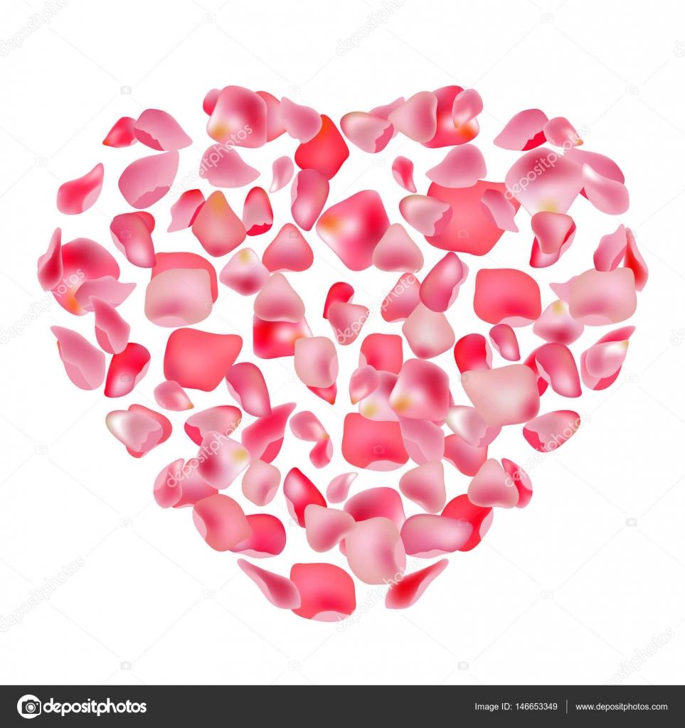 Corazón Rosa. Plantilla de diseño festivo, anuncios, publicidad ...