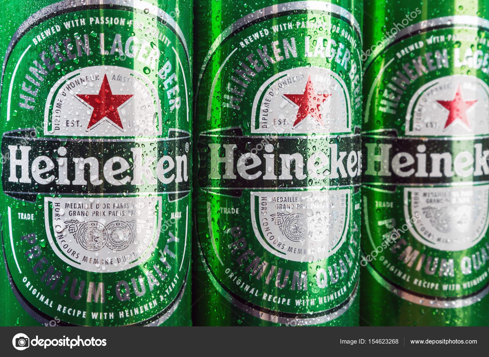 Heineken Beer Global Brand Stock Photo