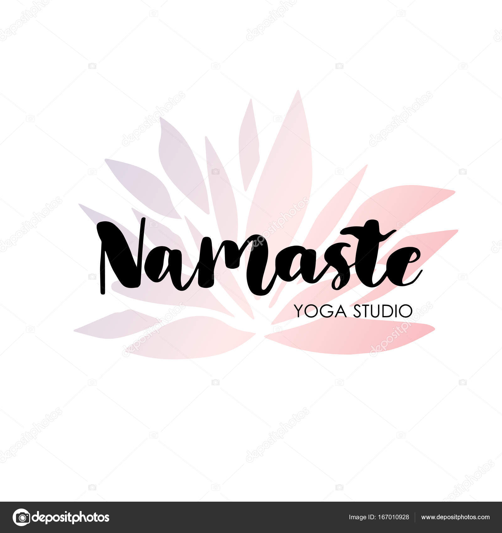 Logo for yoga studio or meditation class. — Stock Vector © mcherevan ...