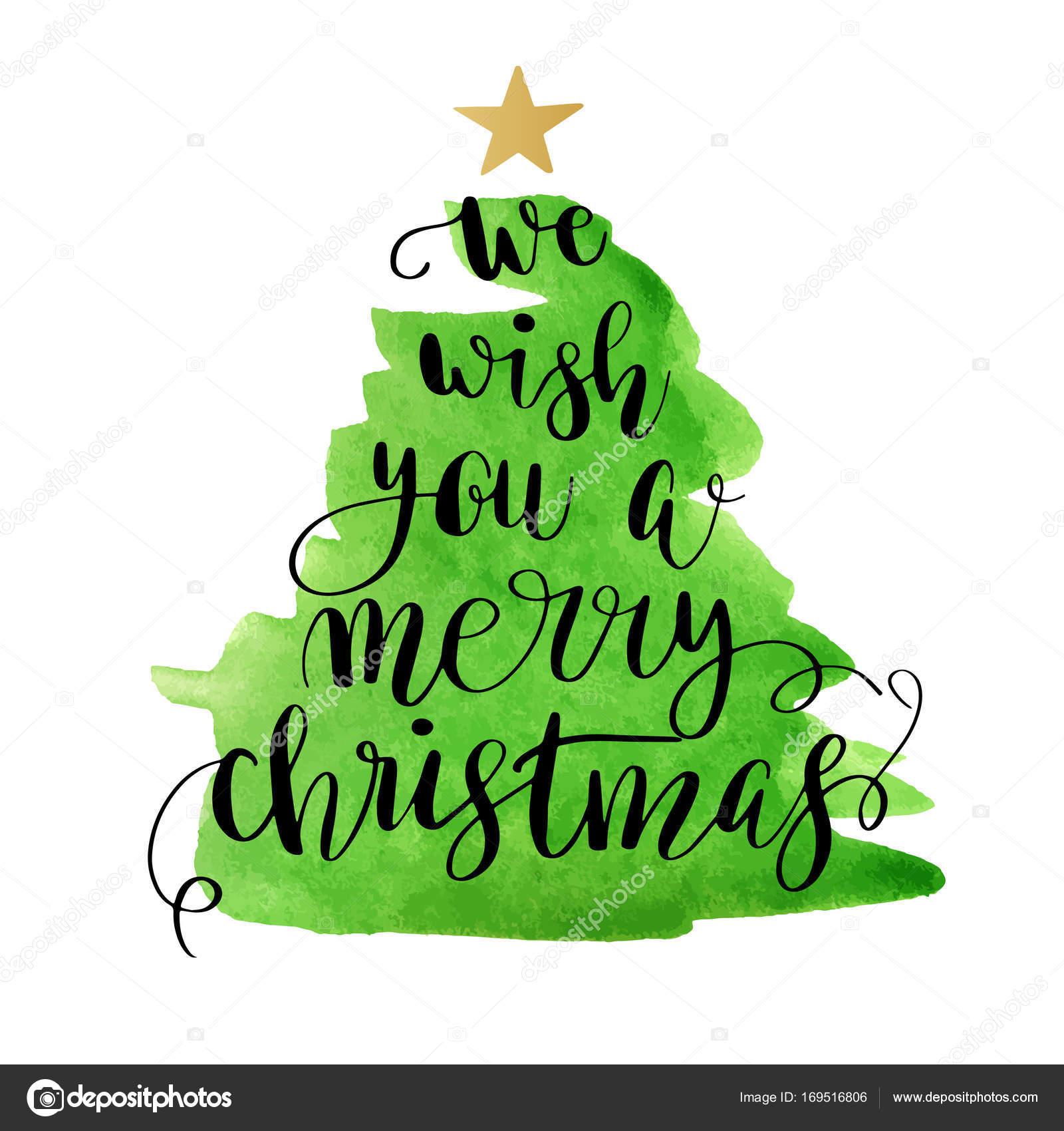 weihnachtsbaum mit schriftzug frohe weihnachten. Black Bedroom Furniture Sets. Home Design Ideas