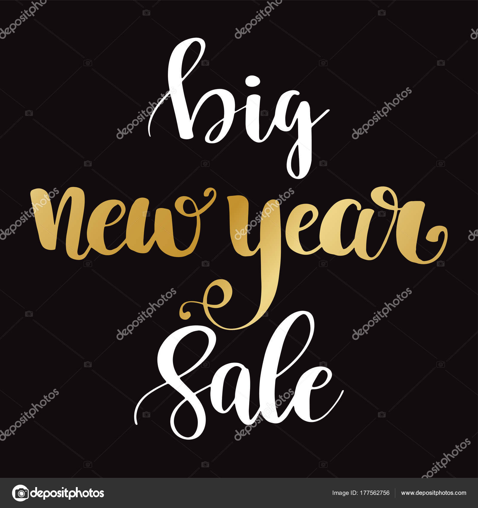 sale banner background for new year shopping sale stock vector
