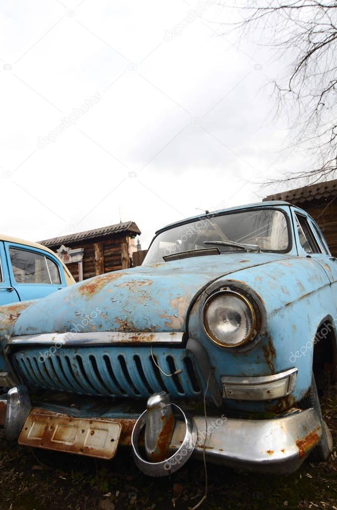 The old rusty car — Stock Photo © voronin-76 #129238790
