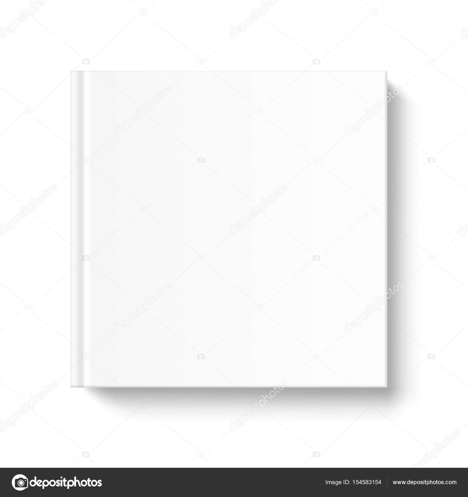 Blank Book Cover Vector Template ~ Modern blank book cover template festooning resume ideas