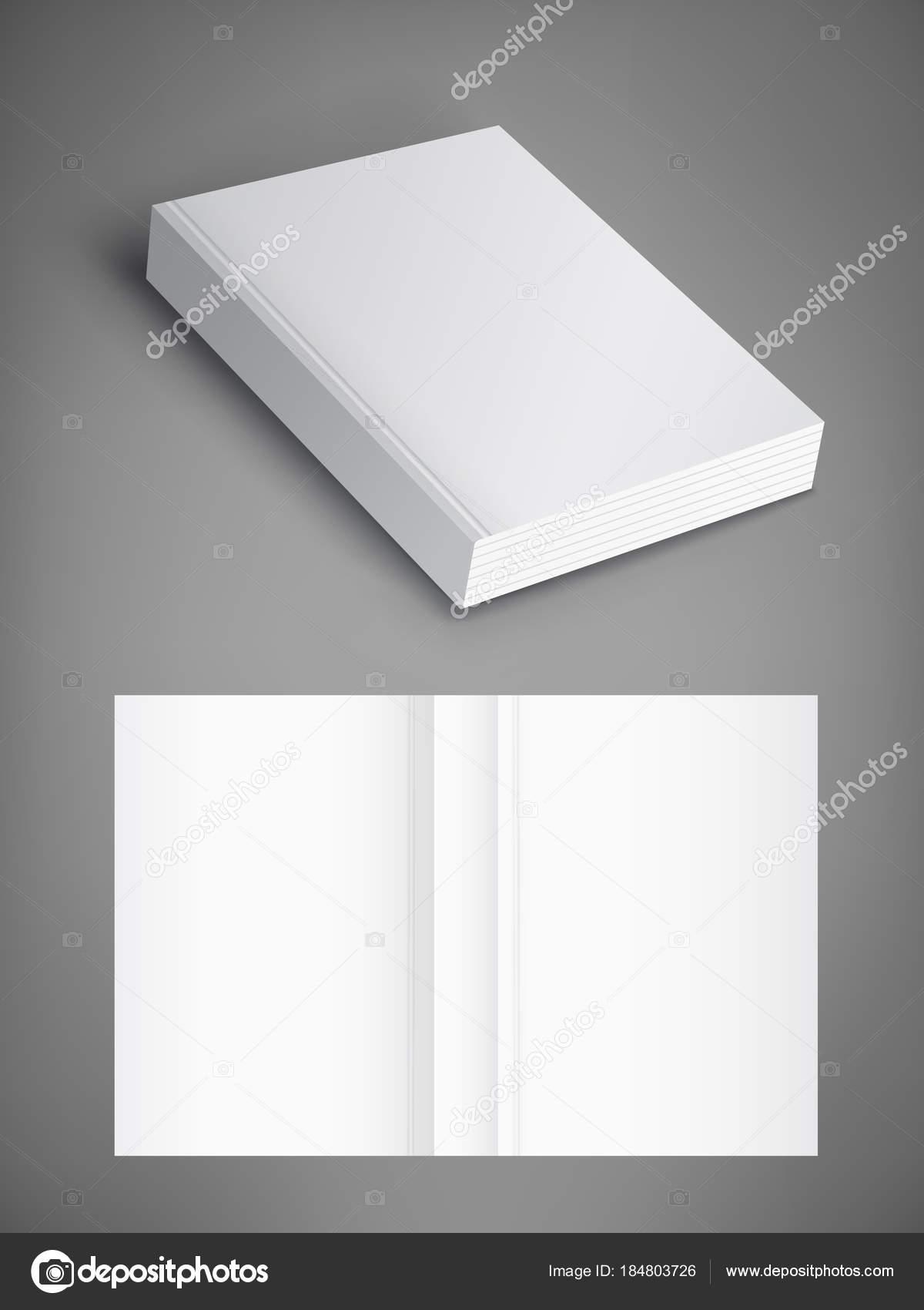 Leeren der Buchumschlag, Vektor-Illustration. Vorlage für Ihr design ...