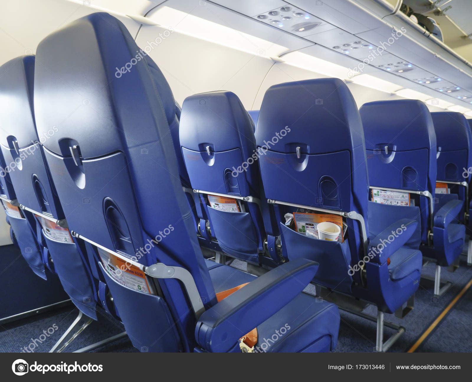 Chairs in the plane u2014 Stock Photo & Chairs in the plane u2014 Stock Photo © Kurganov #173013446