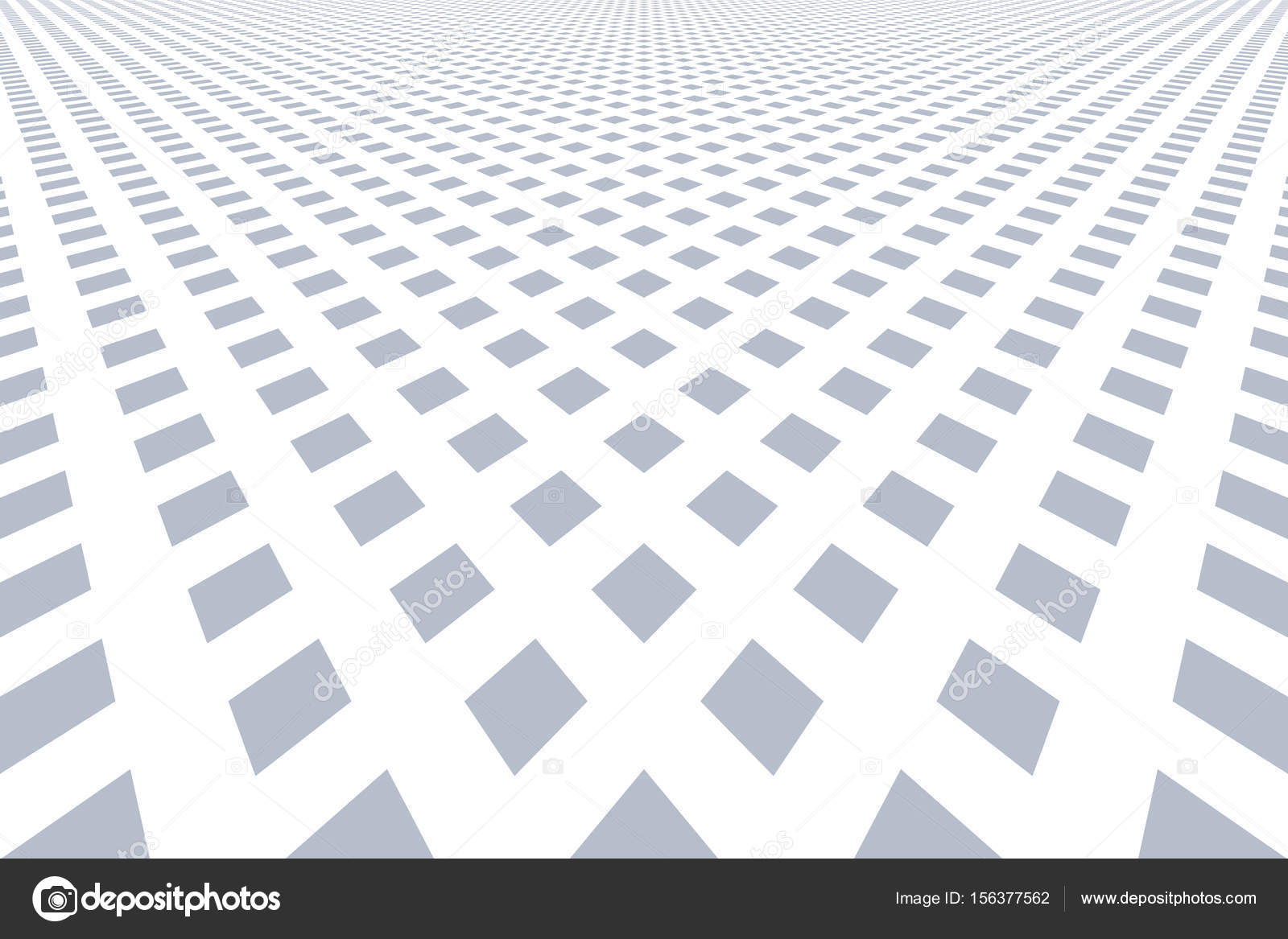 Patrón de diamantes. Vista en perspectiva — Vector de stock © troyka ...