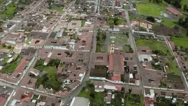 Horská vesnice EL Cocuy v Kolumbii
