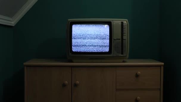 Starý TV bez signálu