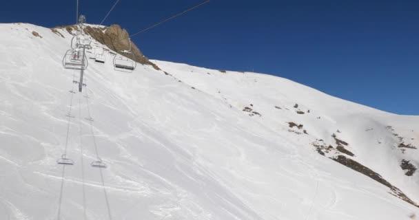 Skiliftaufstieg