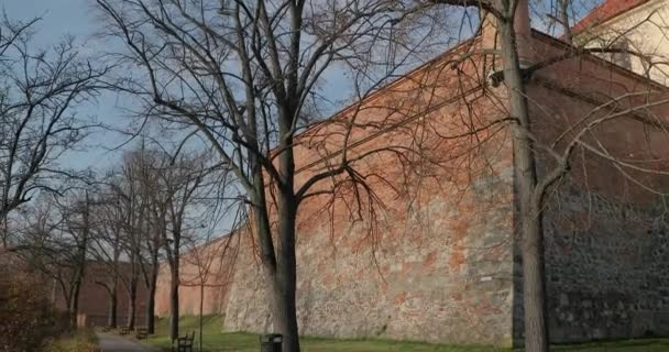 Stěny Špilberského hradu, Brno