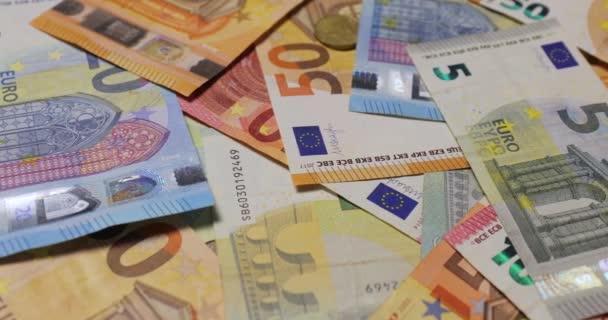 Pozadí eurobankovek