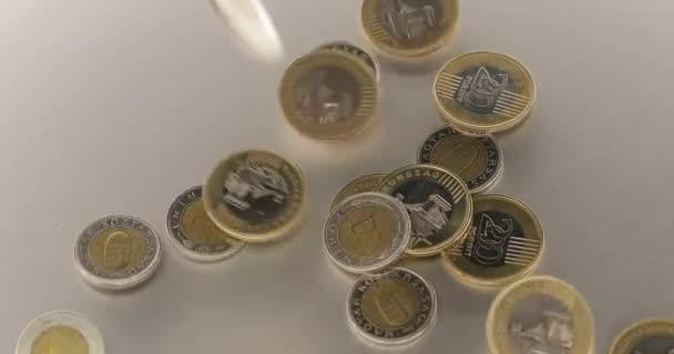 Mince padající na hromadu, Maďarské forinty