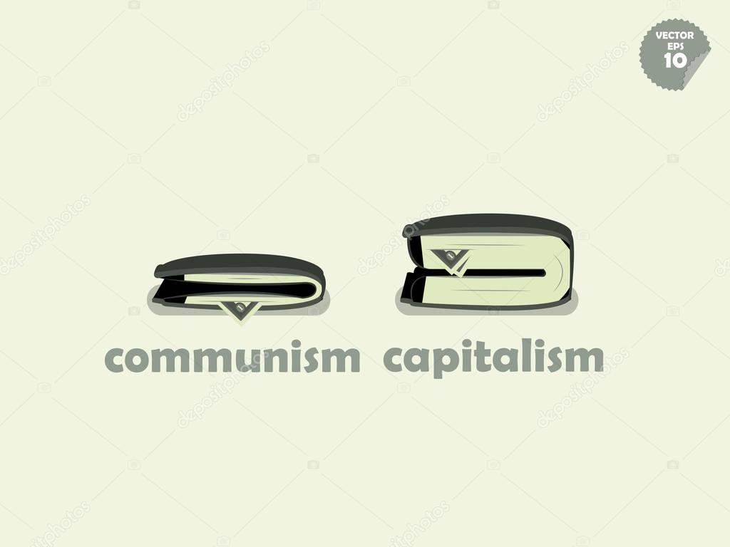 what is the difference between communism and communism