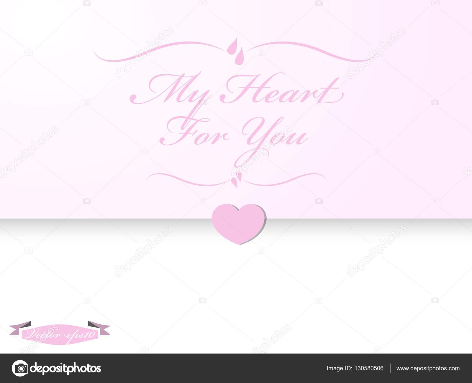 Graphic design vector of wedding card — Stock Vector © watchara