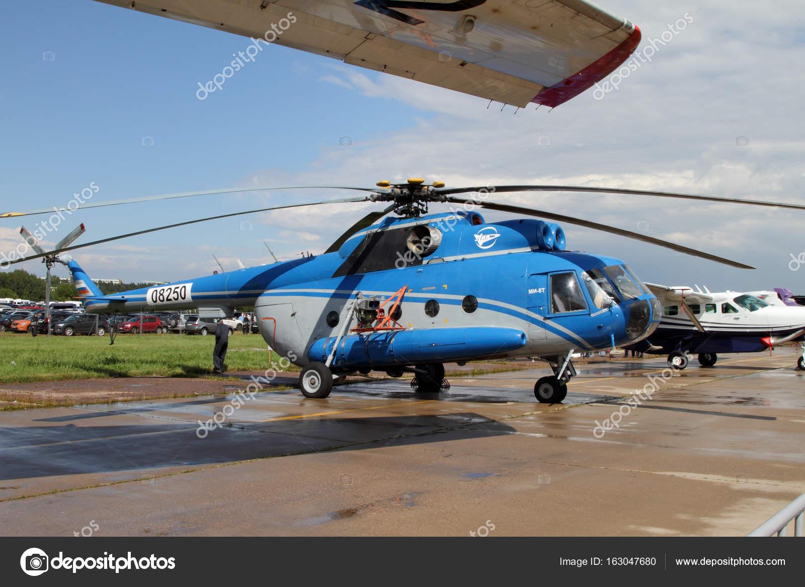 Elicottero 8 : Blu elicottero mi al trasporto aereo internazionale e spazio sal