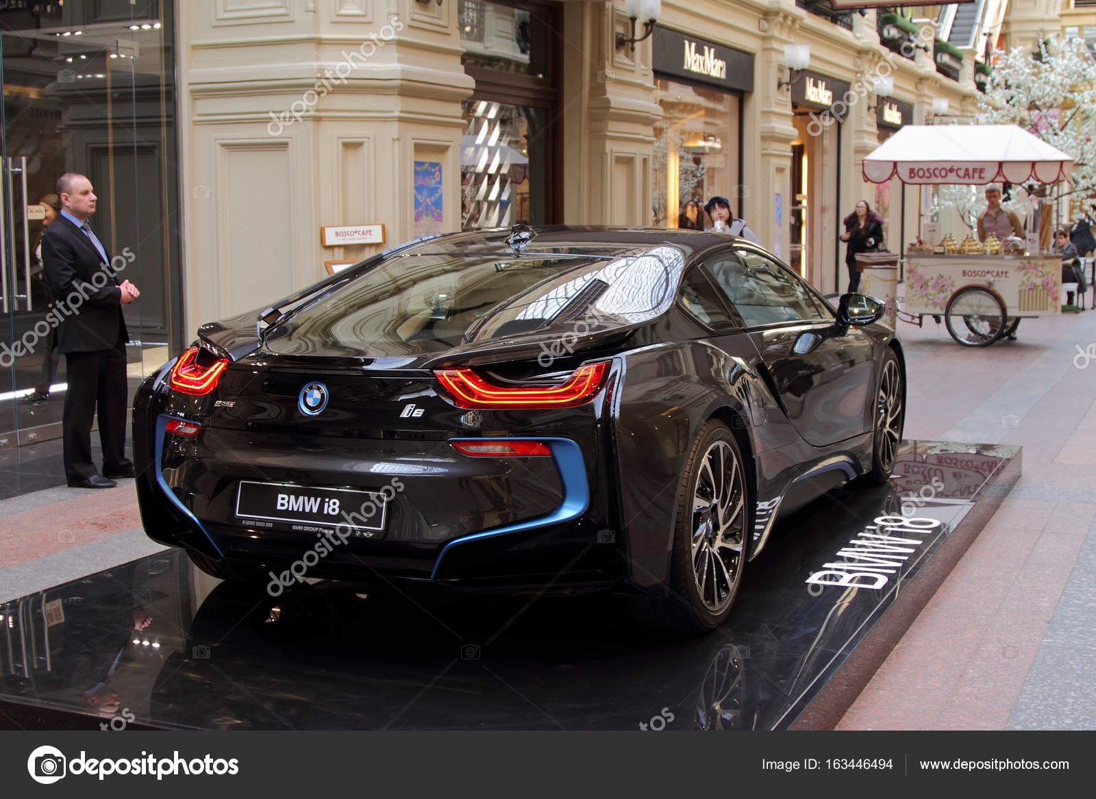 Luxury Bmw I8 Hybrid Electric Coupe On Sale At The State Departm