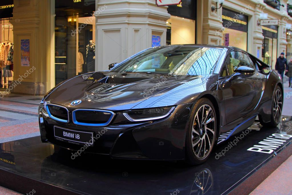 bmw luxe coup lectrique d i8 hybride est en vente l. Black Bedroom Furniture Sets. Home Design Ideas