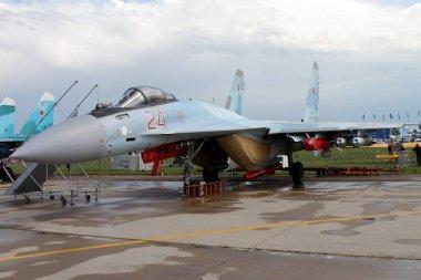 Russian multipurpose superarmane fighter Su-35 (on the codificat