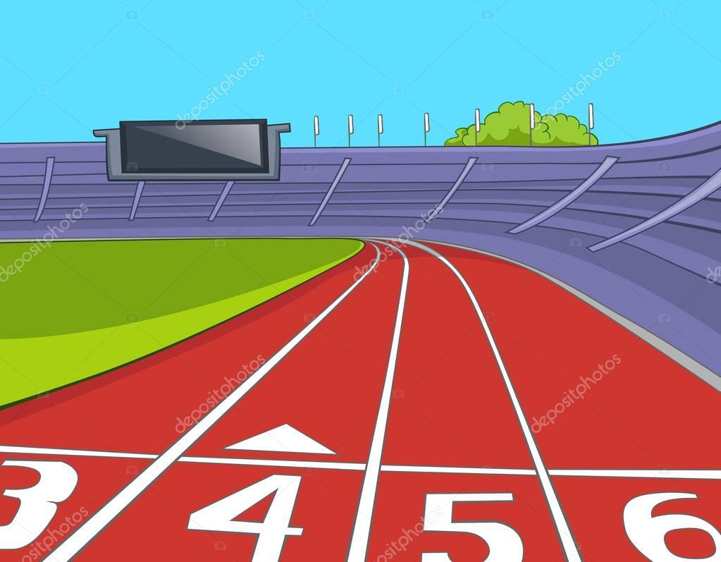 fondo de dibujos animados de estadio con pista de running turkey clipart free running shoe clipart free