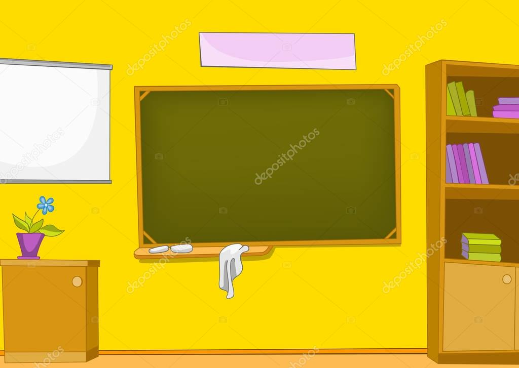 Dessin anim fond de la salle de classe photographie rastudio 129373906 - Dessin classe ...