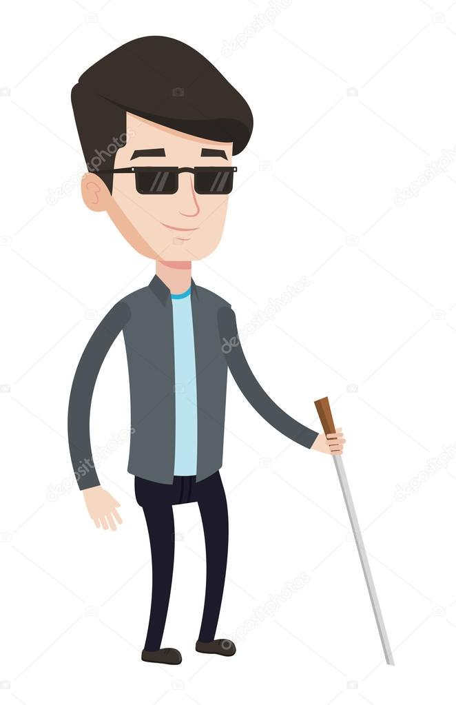 blind people stick
