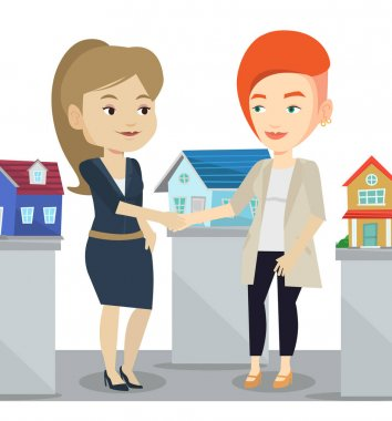 Agreement between real estate agent and buyer.
