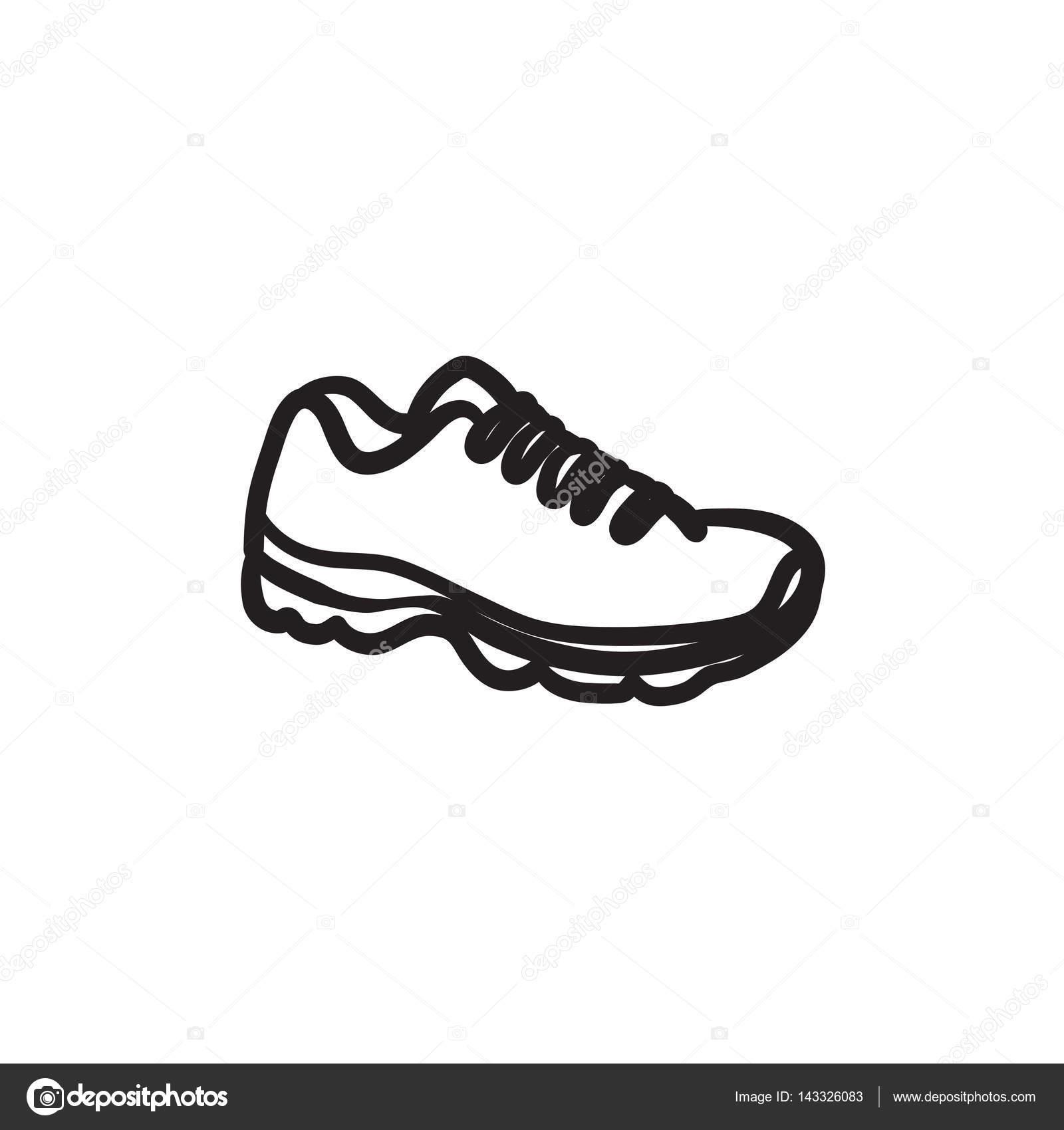 Skizze Symbol— Sneaker © Visualgeneration Stockvektor 3c4R5jqLA
