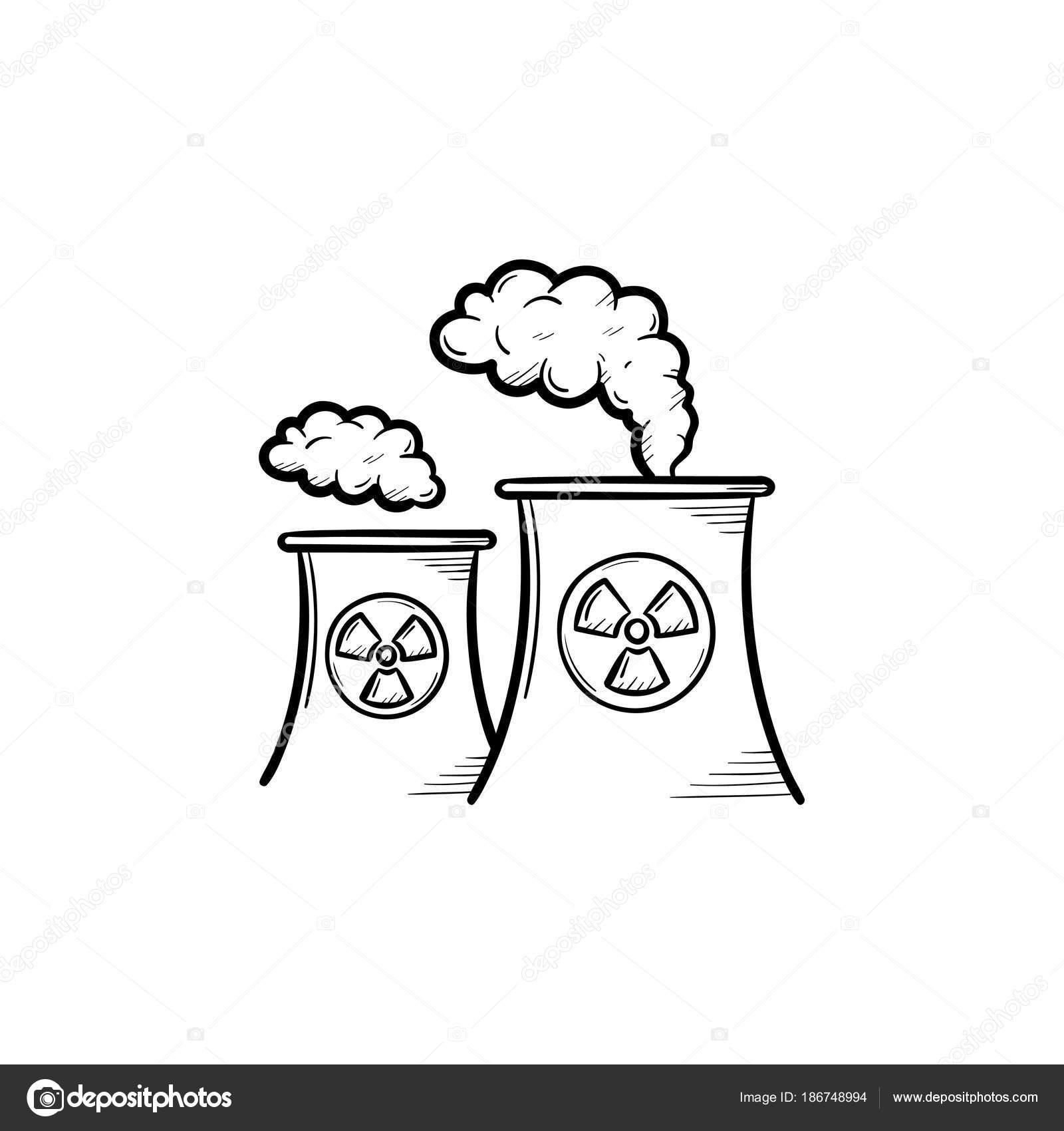 Dibujos Energia Quimica Icono De Esbozo Dibujado De Mano De