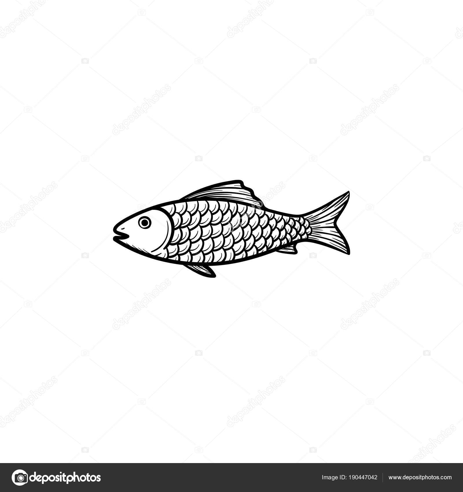 рыба картинки нарисованные