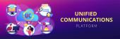 Einheitliches Kommunikationskonzept