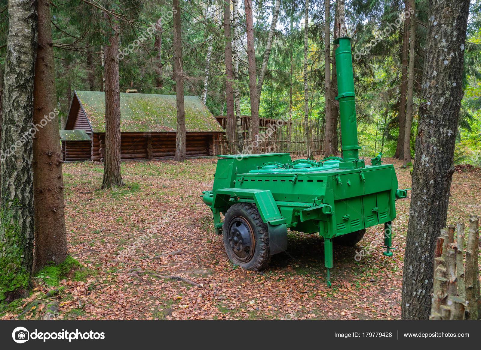 Stankovo Village Bialorus 08 Pazdziernika 2017 Kuchnia Polowa