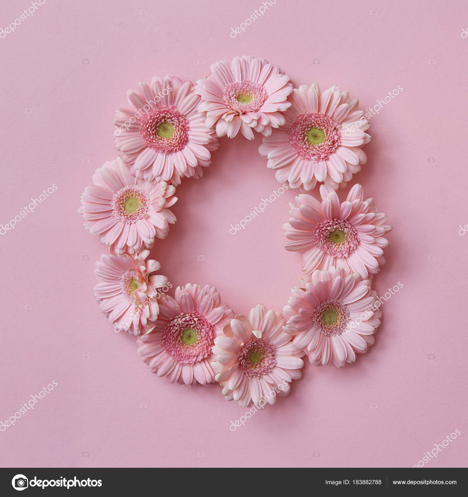 Letter made gerbera flowers pink background part word love floral letter made gerbera flowers pink background part word love floral stock photo mightylinksfo