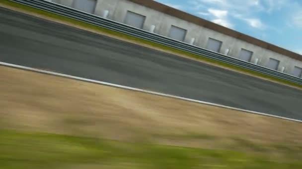 Formule jedna závodní auta na cestě