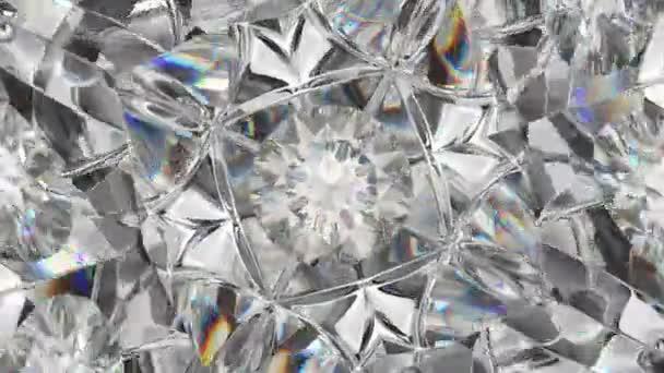 rotierender funkelnder Diamant
