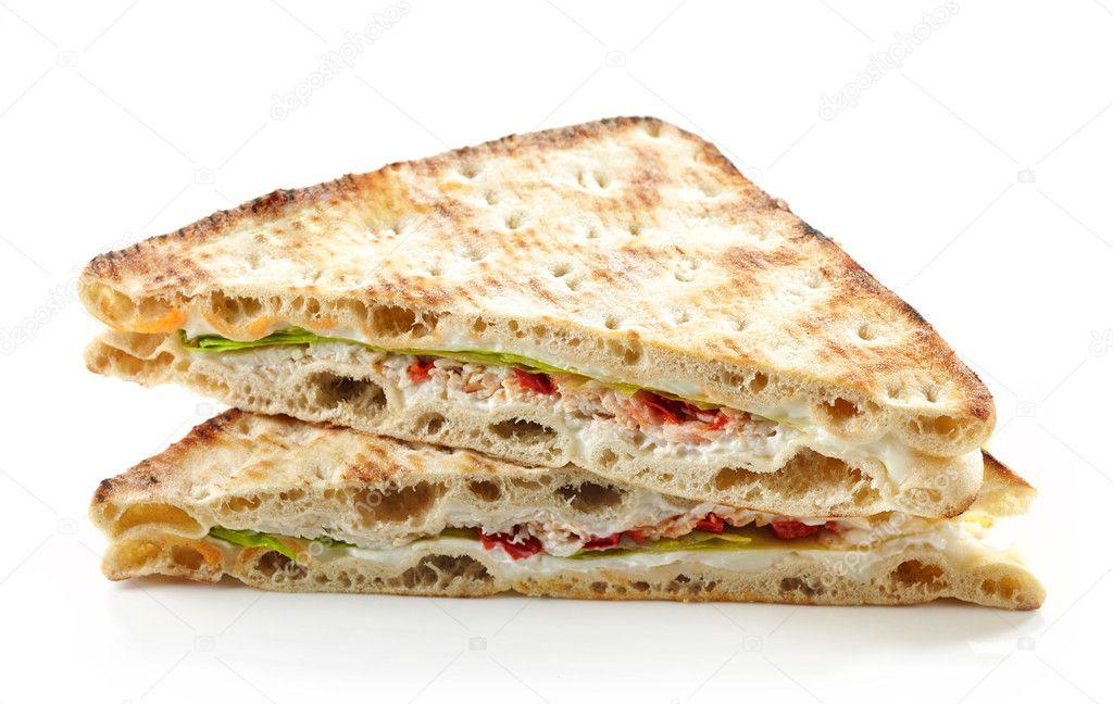 Imagenes De Queso Crema: Sandwich De Pollo Y Queso Crema
