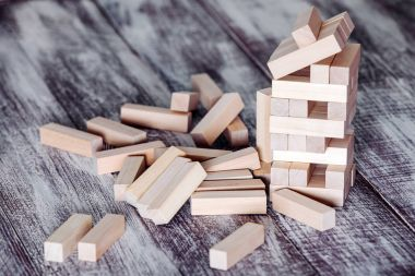 Wooden  blocks  game