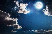 Fényképek ég, Hold és a csillagok