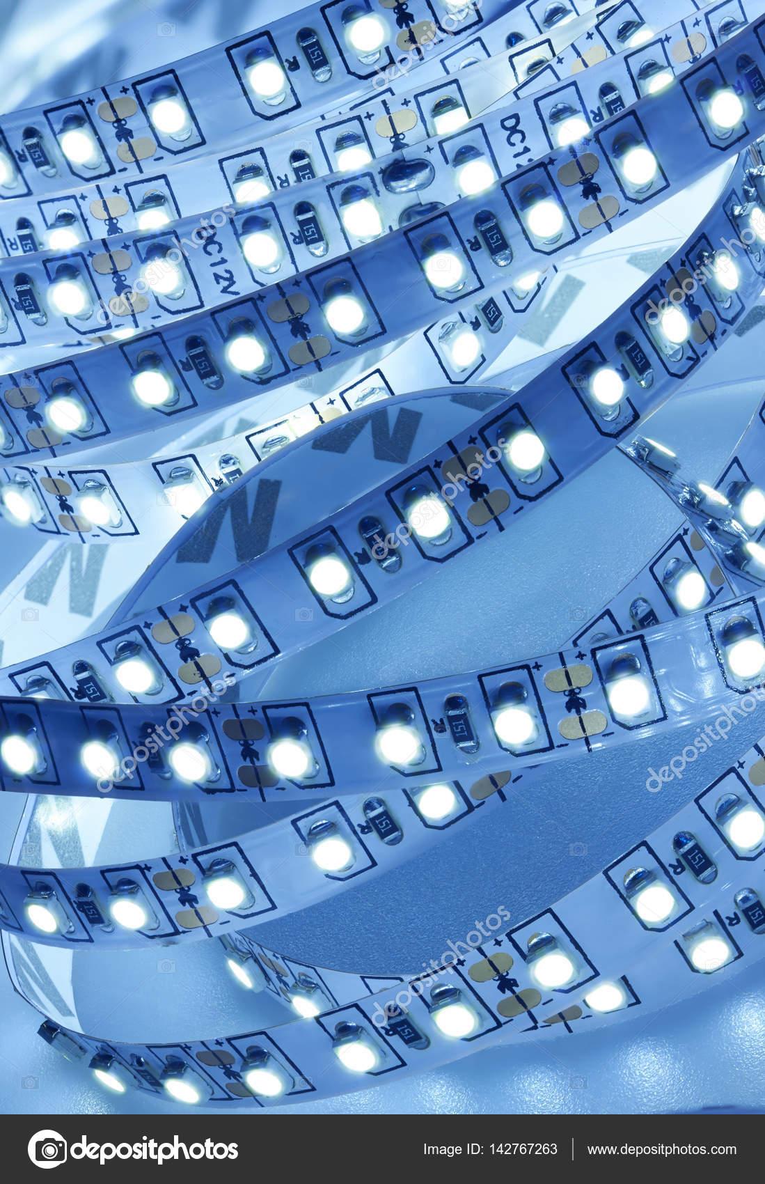 Diode strip. LED verlichting tape — Stockfoto © krasyuk #142767263