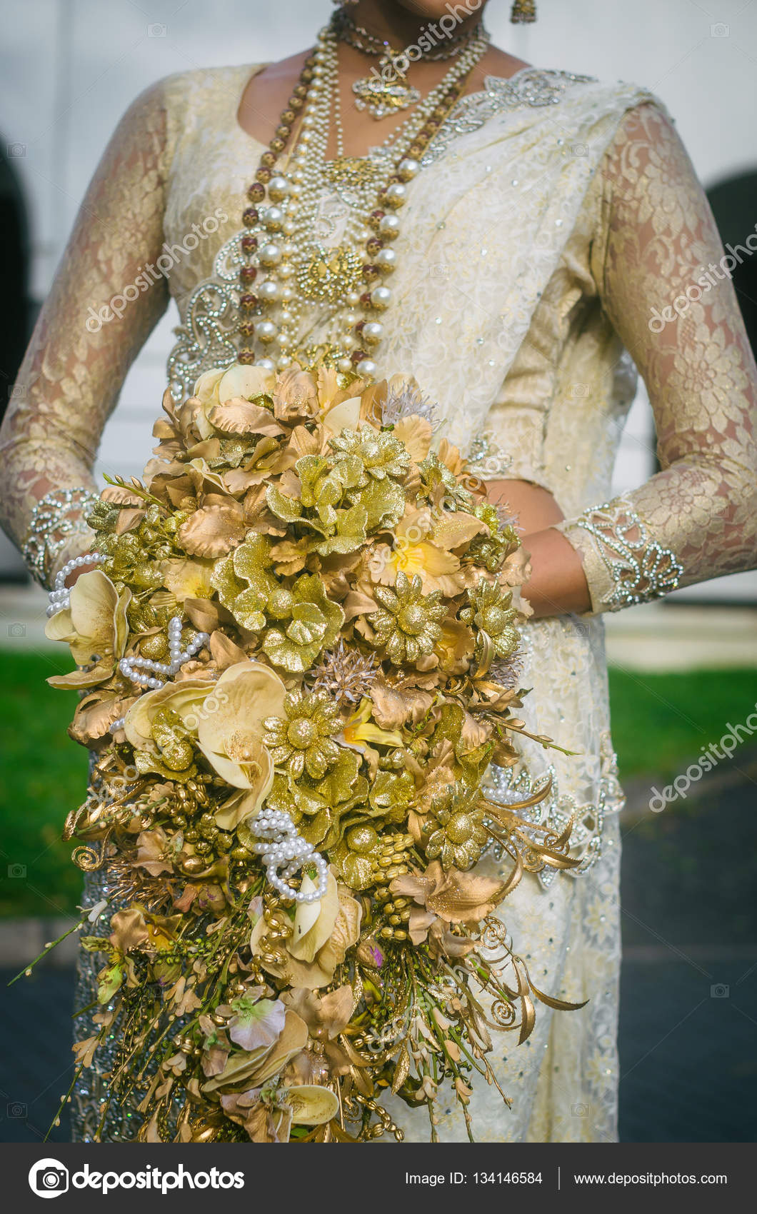 Wedding bouquet of the bride in sri lanka stock photo val wedding bouquet of the bride in sri lanka stock photo izmirmasajfo