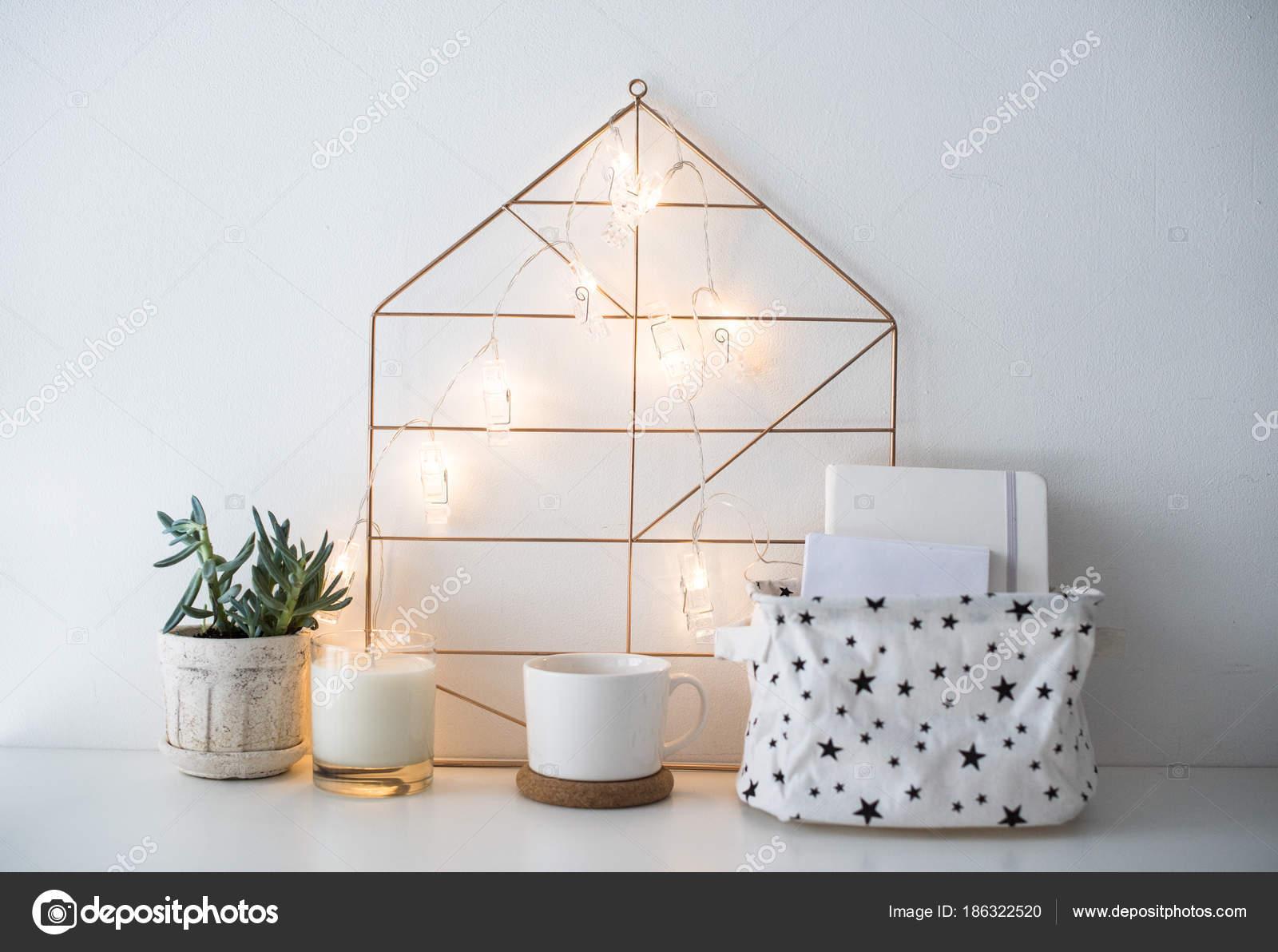 Arredamento Bianco E Corda : Arredamento scandinavo minimalista scatola di immagazzinaggio e