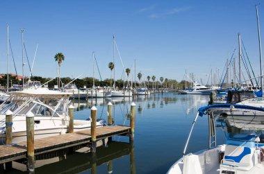St Petersburg Marina Florida