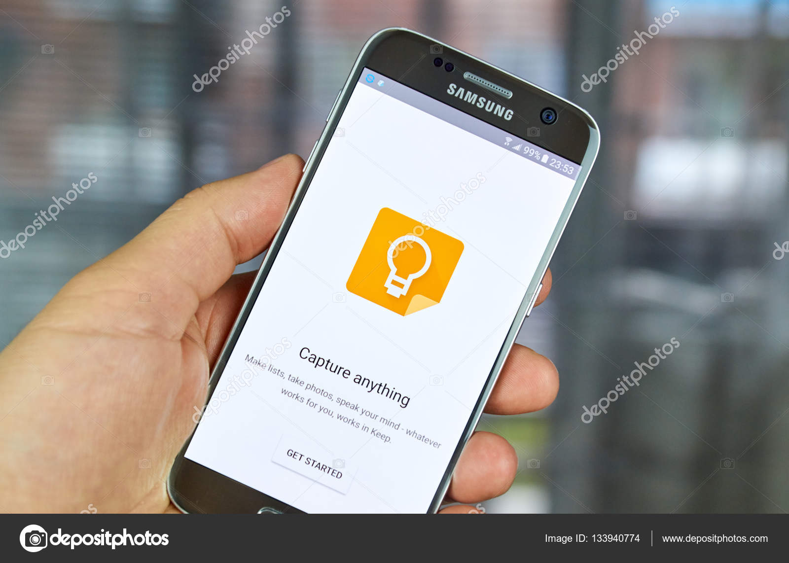 Google Keep app – Stock Editorial Photo © dennizn #133940774