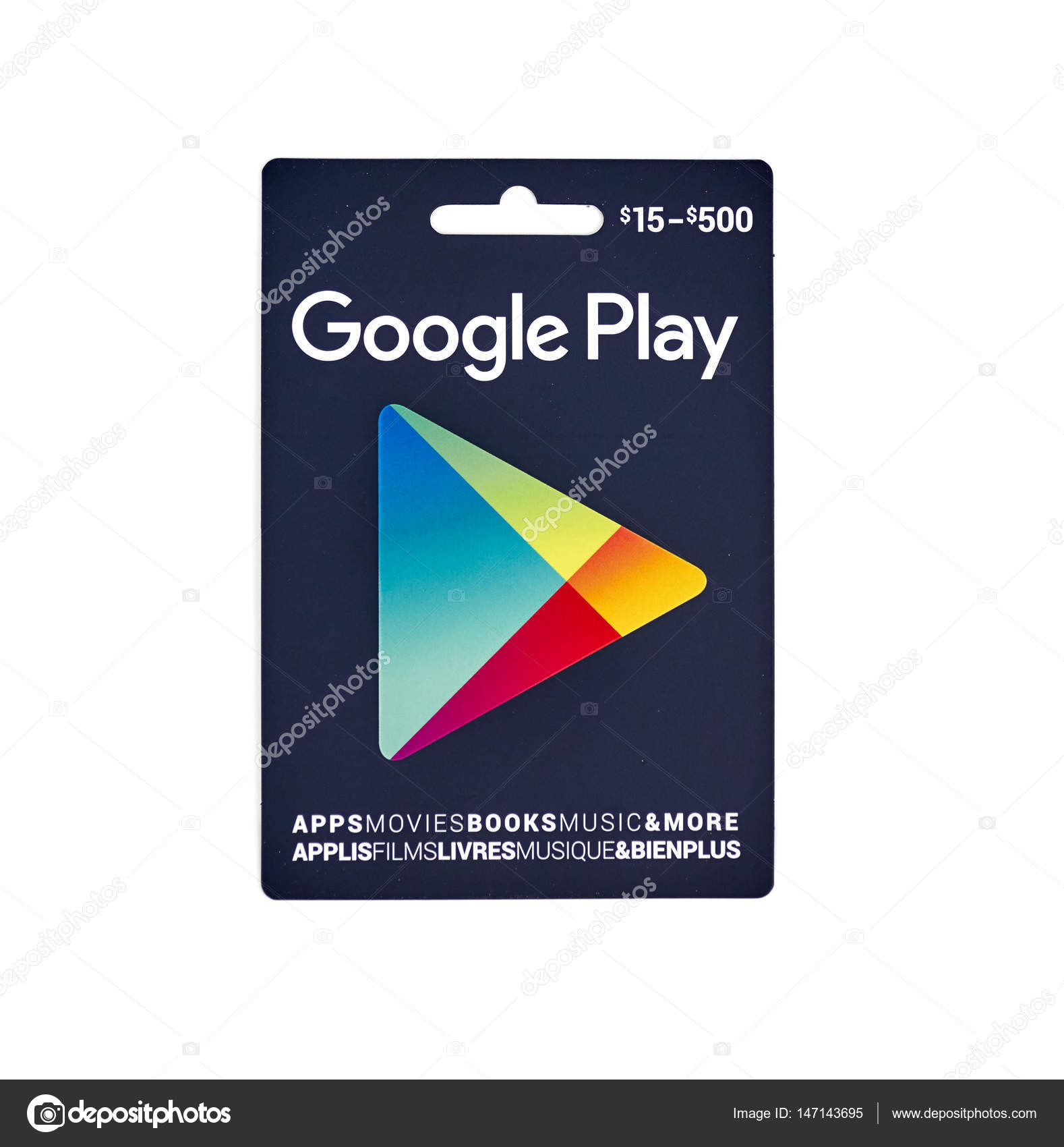 google play tcard – stock editorial photo © dennizn