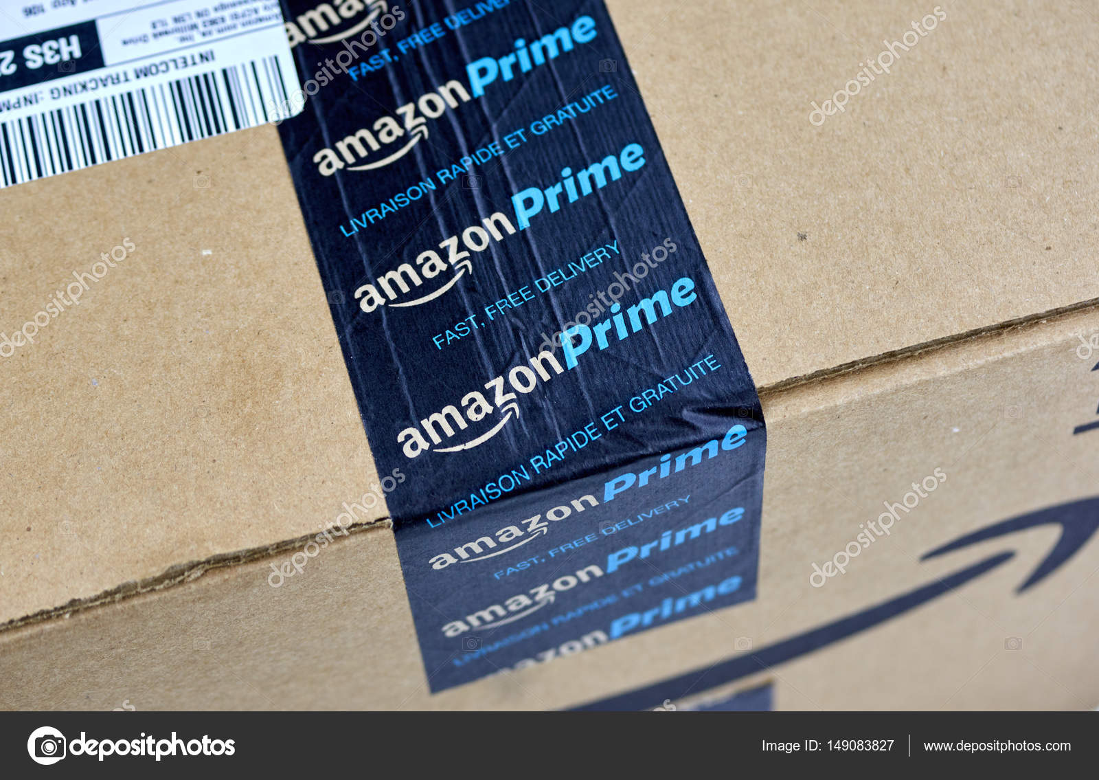 Caixa de transporte do amazon prime fotografia de stock editorial caixa de transporte do amazon prime fotografia de stock reheart Images