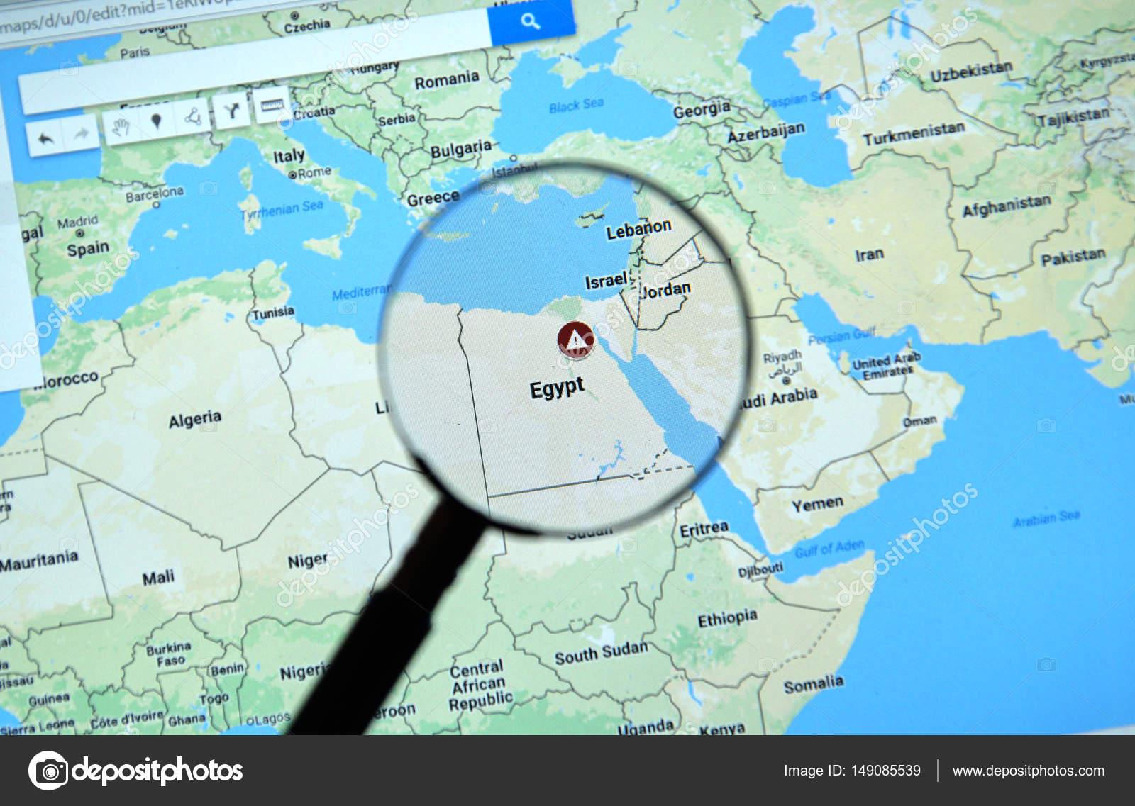 Egipto en google maps foto editorial de stock dennizn 149085539 egipto en google maps fotos de stock gumiabroncs Gallery