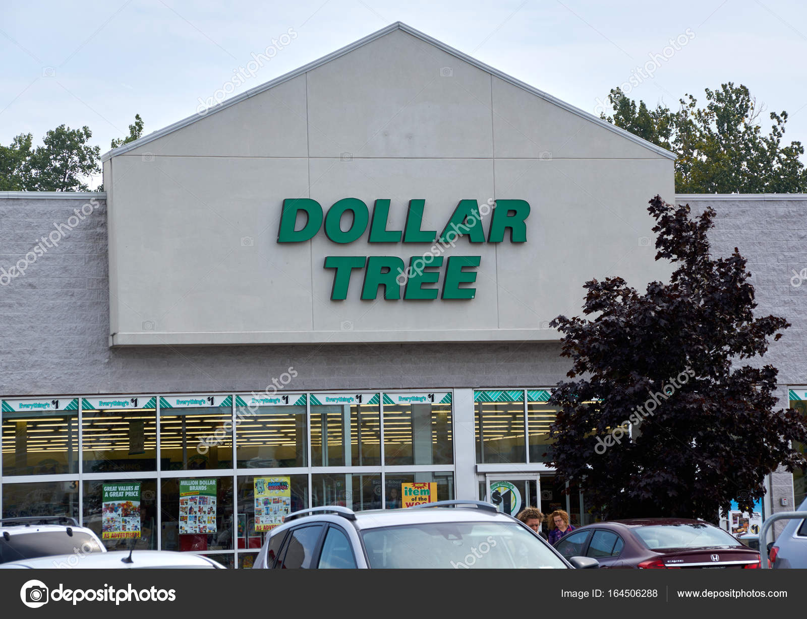 Dollar Tree Store And Sign
